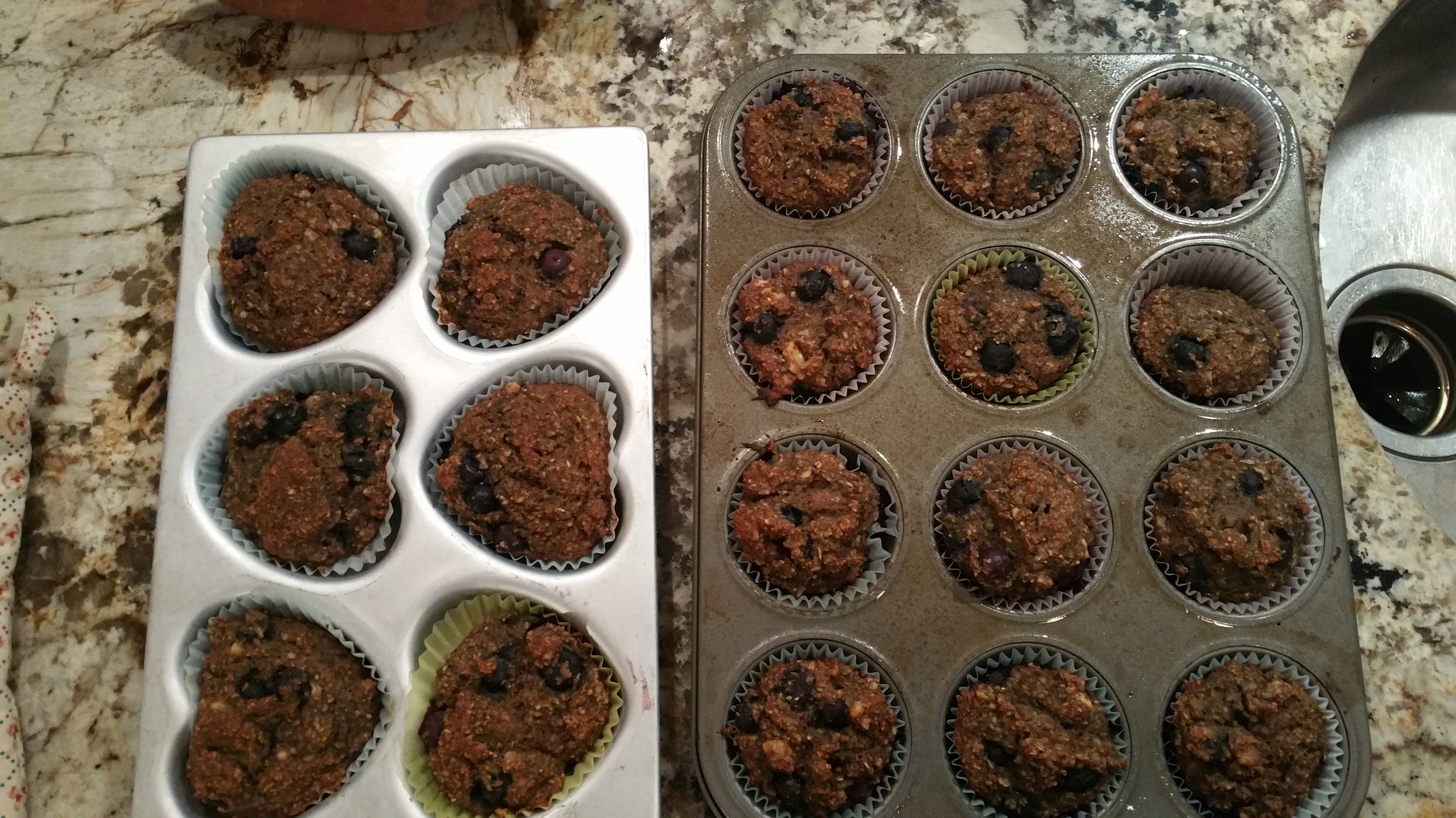 Chef AJ's Banana Oat Muffins, with my tweaks!
